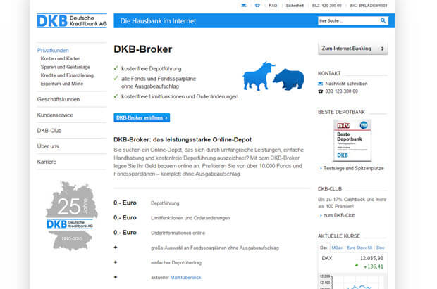 DKB Bank Konditionen