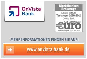Onvista Bank Erfahrungen