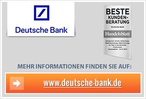 Deutsche Bank Depot Eröffnen