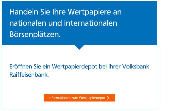Börsenplätte Volksbank