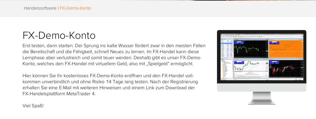 Flatex FX-Demo