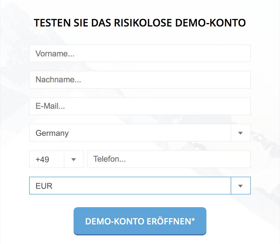 Dukascopy bietet unter anderem ein kostenfreies Demokonto