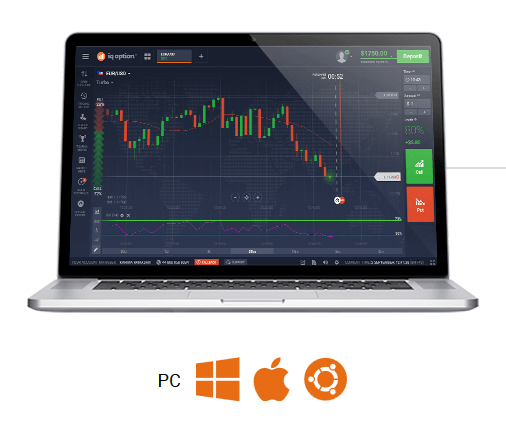 IQ Option Handelplattform App