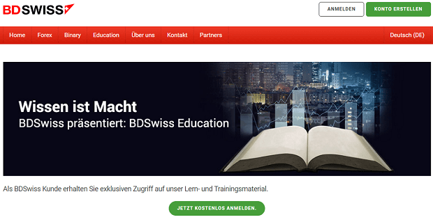 BDSwiss Education