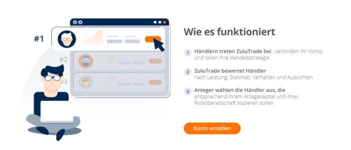 ZuluTrade App Android und iPhone