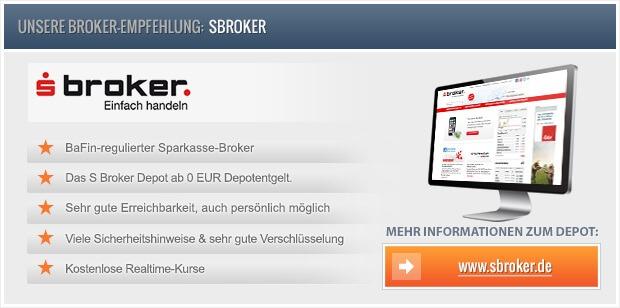 S broker direkt depot