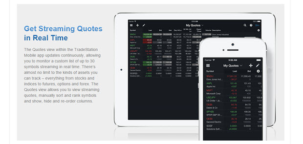 TradeStation auch als App