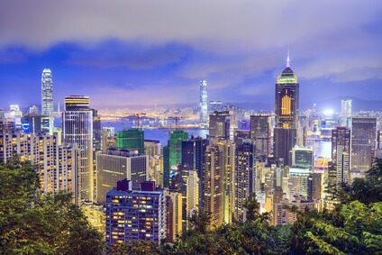 Hier in Hong Kong betreibt die Deutsche Bank einen außerbörslichen Handelsplatz.