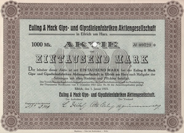Aktienportfolio Bild