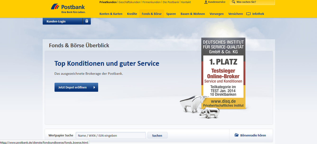Postbank Online Brokerage