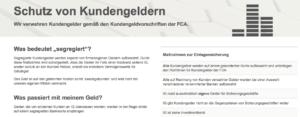 IG Markets Binäre Optionen Erfahrung Regulierung