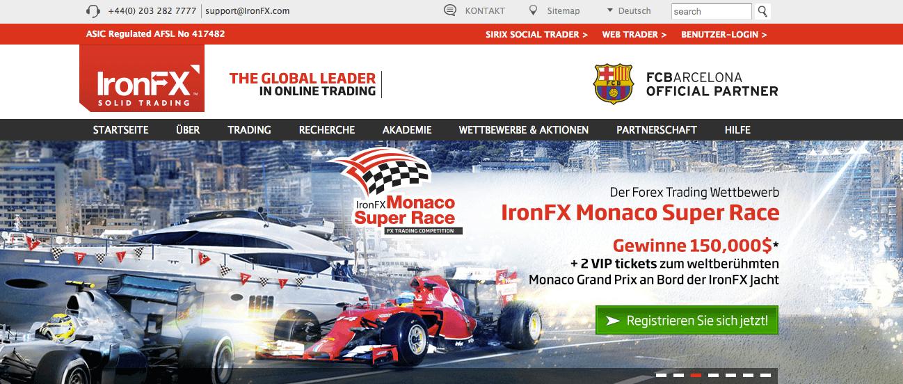 IronFx Erfahrungen Einzahlungsbonus