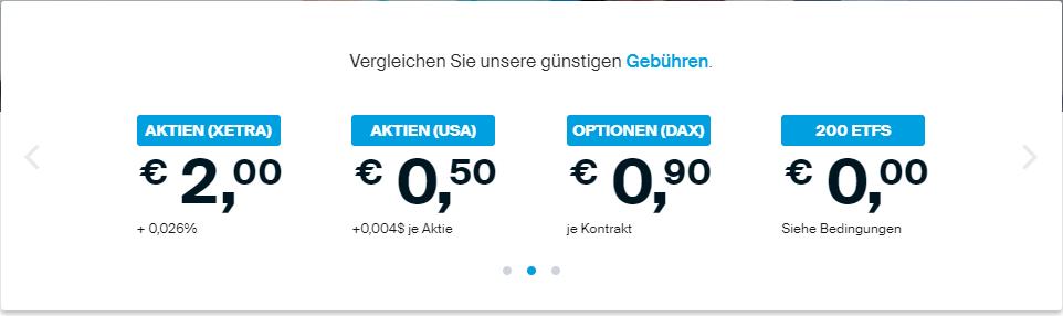 Die günstigen Gebühren beim Online-Broker DEGIRO überzeugen