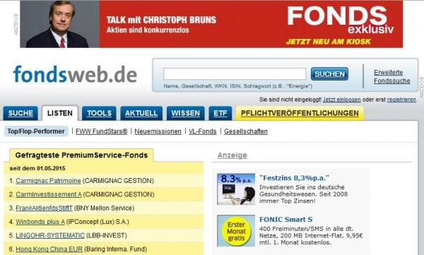 Fondsweb De