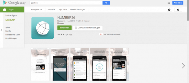 Die App kann im Play Store und im App Store heruntergeladen werden