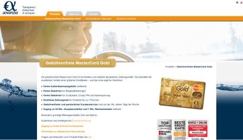 Die Konditionen der Advanzia Bank Kreditkarte