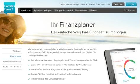 Zusätzliche Angebote zum Girokonto der Consorsbank