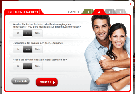 Der Girokonten-Check der Sparkasse Hannover