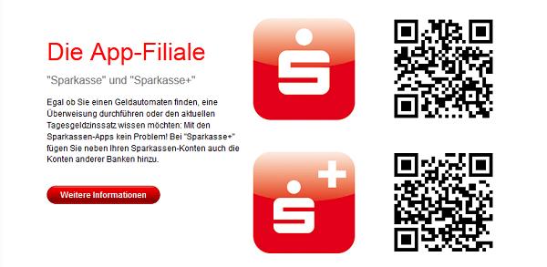 Banking-Apps bei der Sparkasse Hannover