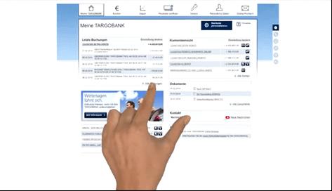 Das Online-Banking bei der TARGOBANK