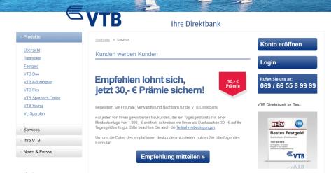 Vtb Direktbank Warnung