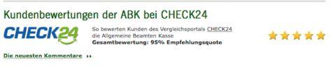 95 Prozent der Kunden sind mit der ABK Bank zufrieden