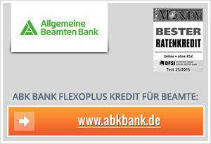 allgemeine beamten bank kredit erfahrungen test 09 2016. Black Bedroom Furniture Sets. Home Design Ideas