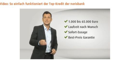 Video zum norisbank Top-Kredit