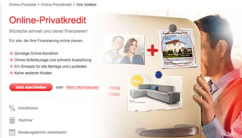 Wünsche erfüllen mit dem Online-Privatkredit