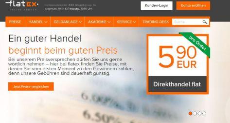 Flatrate ab 5,90 Euro für Direkthandel