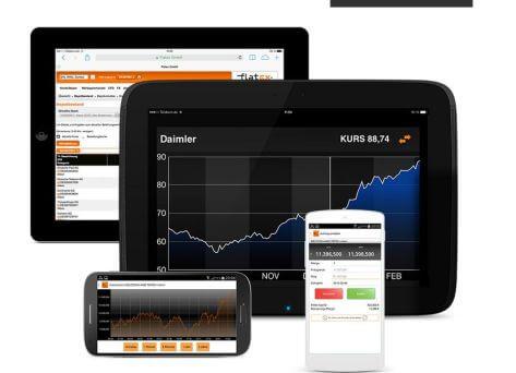 Mobiler Handel bei Testsieger kostenlos
