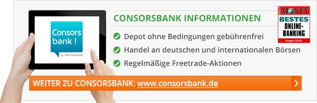 Consorsbank Freetrade Aktion 2017
