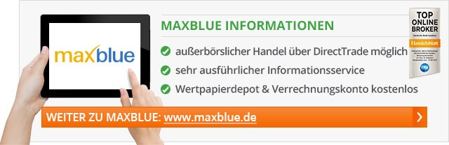 maxblue freetrade aktion