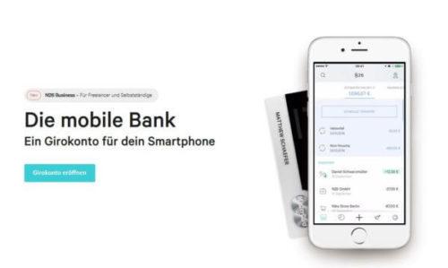 N26 mobiles Banking