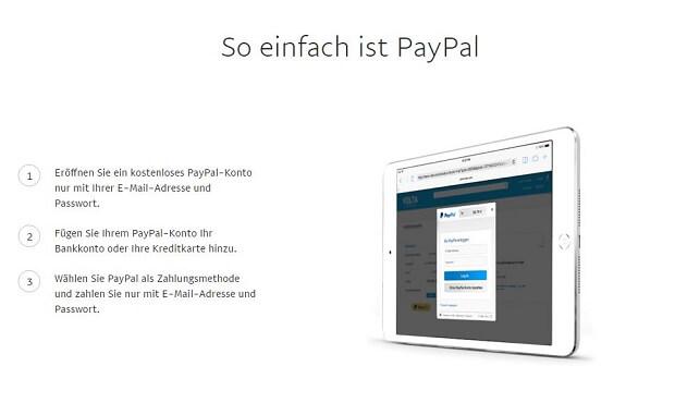 Trading mit PayPal