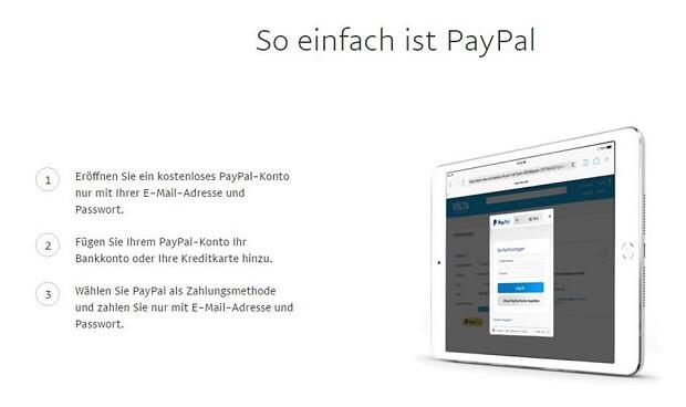 PayPal einfach und sicher