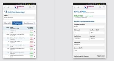 OnVista Bank App