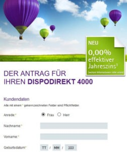 Bank11direkt Dispo4000