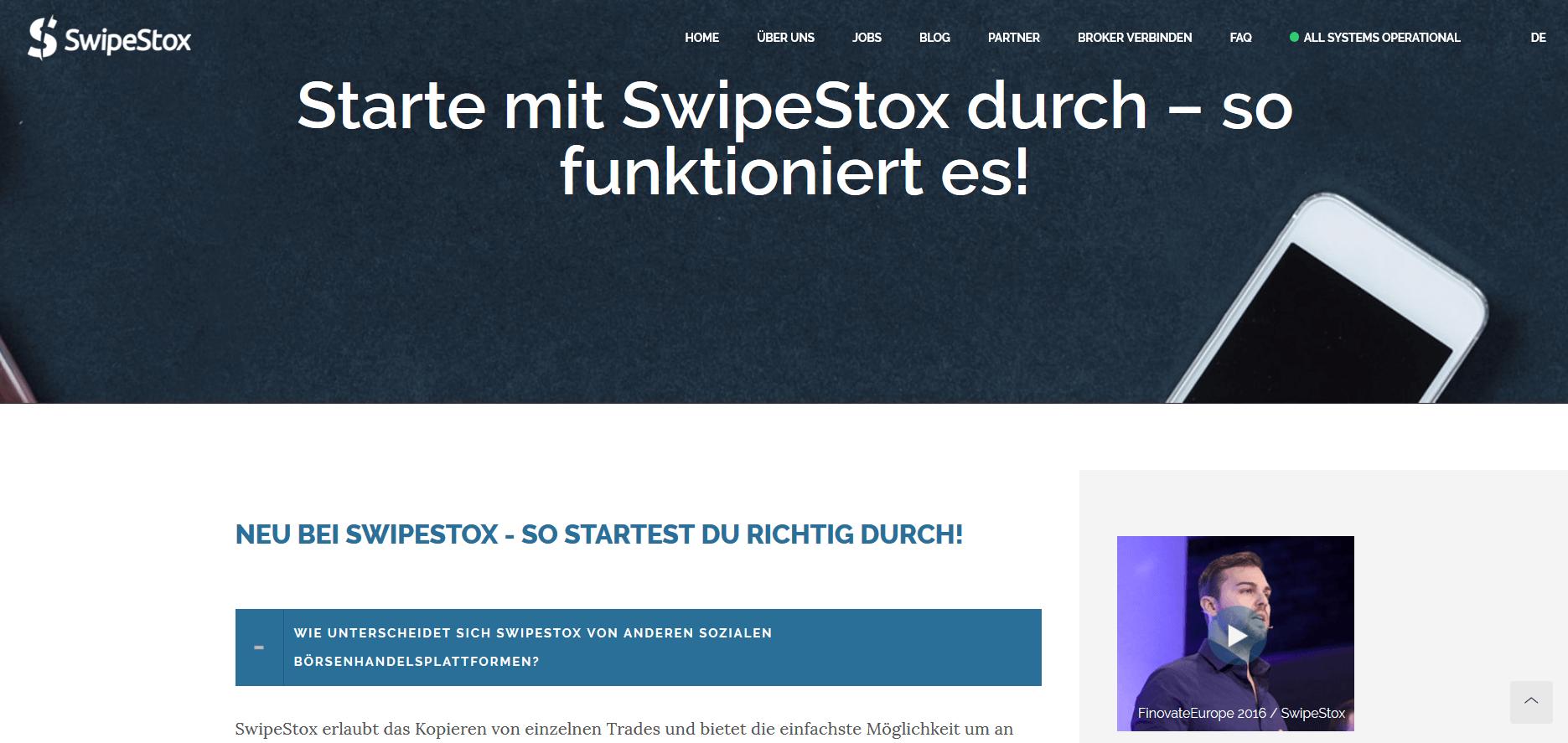 Die FAQ zur Kontoeröffnung von SwipeStox