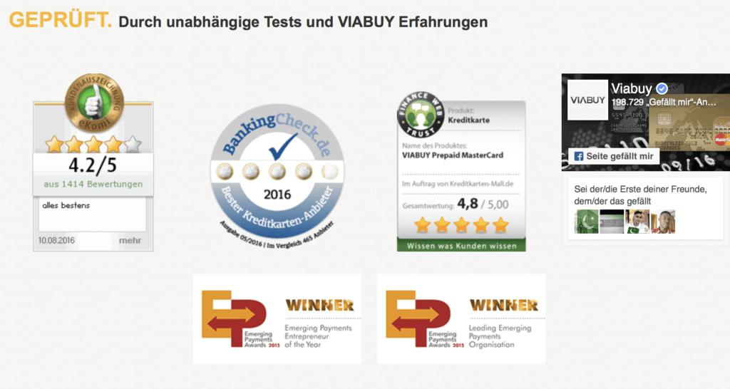 VIABUY: In unabhängigen Tests geprüft.