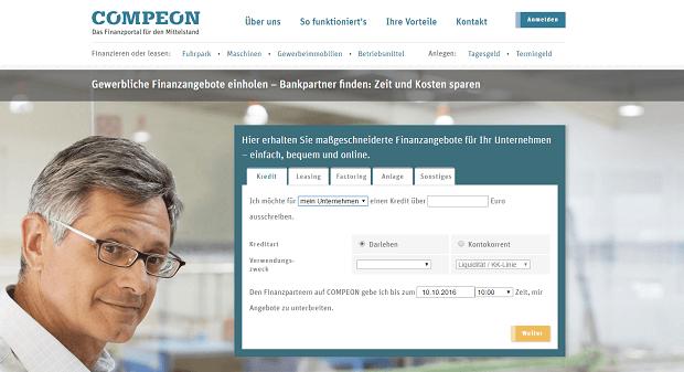 COMPEON Webseite