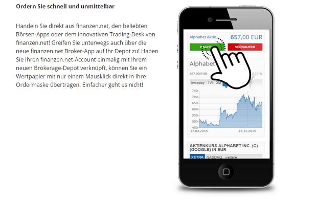 Finanzen.net mobil