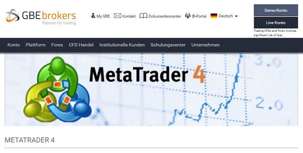 GBE Brokers MetaTrader