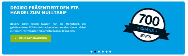 DEGIRO ETFs free