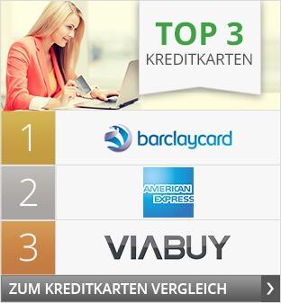Top 3 Kreditkarten