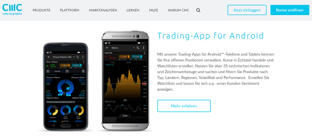 CMC Markets App Android