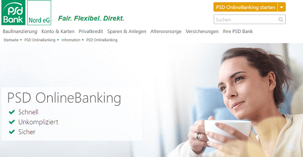 PSD Bank Nord Online-Banking