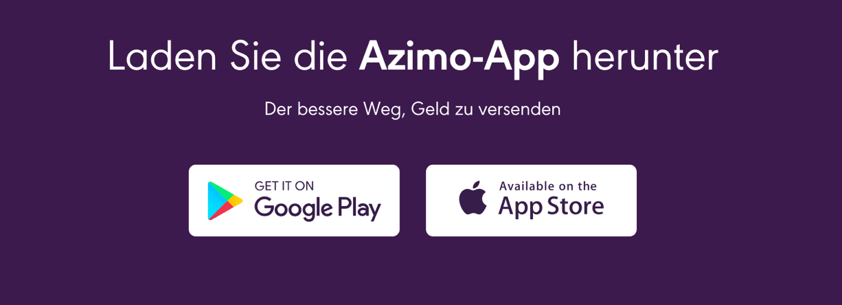 Azimo App Erfahrungen