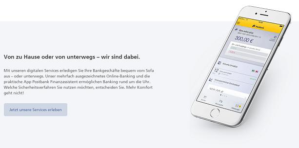 Auch vom Smartphone oder Tablet können die digitalen Services genutzt werden