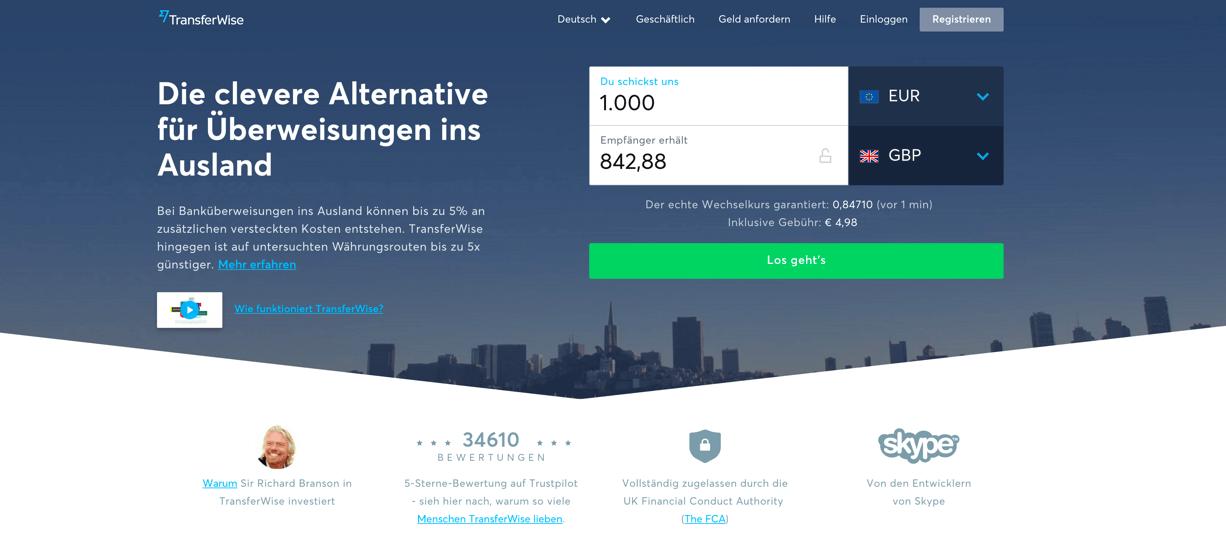 TransferWise Erfahrungen von Aktiendepot.com